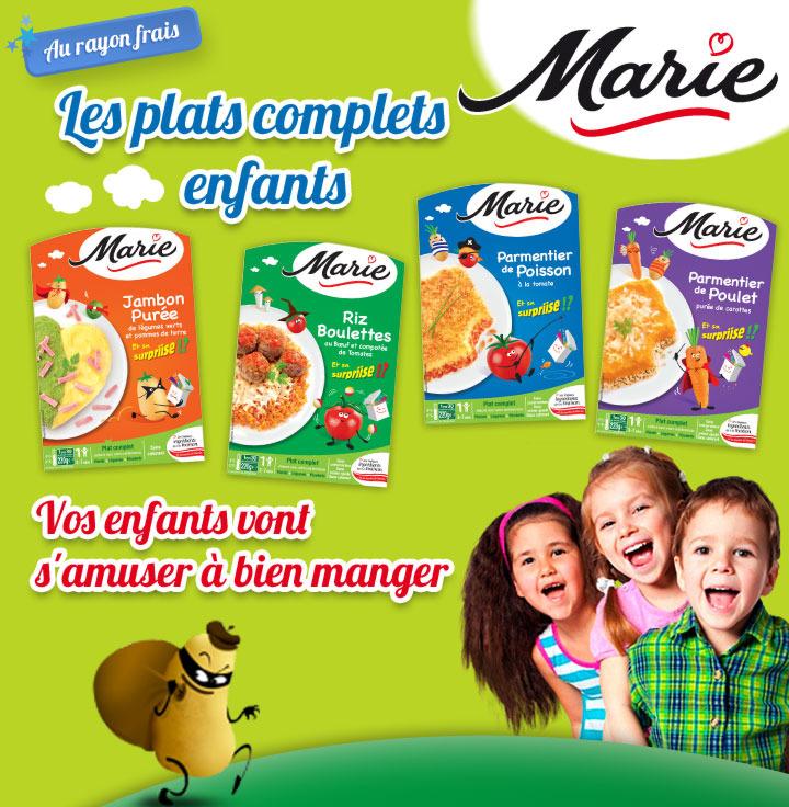 Shopmium marie plats cuisin s enfants for Plats cuisines marie