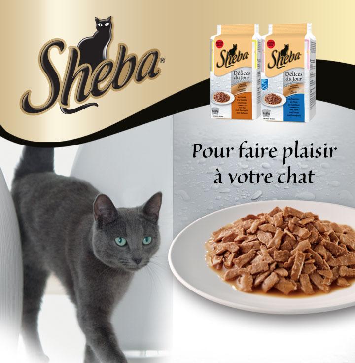 Sheba®  Délices du jour